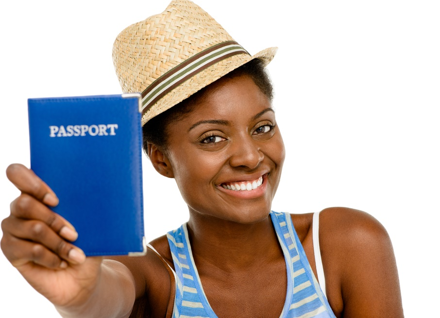 african-american-woman-with-passport